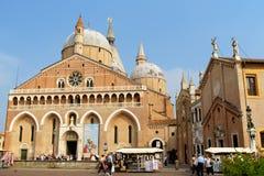 Pontifical базилика Святого Антония Падуи, Италии Стоковое фото RF