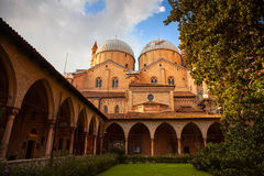The Pontifical Basilica of Saint Anthony of Padua Stock Images