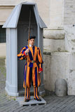 Pontifical Swiss Guard of Vatican city Royalty Free Stock Image