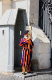 Pontifical Swiss Guard, Vatican city Stock Photo