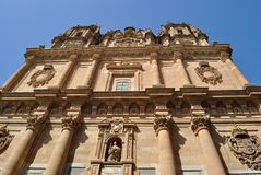 The Pontifical University of Salamanca Stock Image