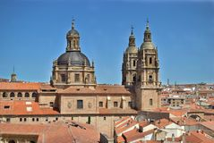 The Pontifical University of Salamanca Royalty Free Stock Photo