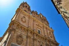 The Pontifical University of Salamanca Royalty Free Stock Images