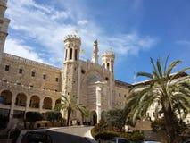 Pontificial institute Notre Dame Jerusalem stock images