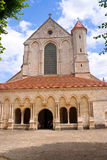 Pontigny abbey France Royalty Free Stock Photography