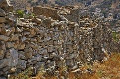 Pontikokastro - castillo del ratón en Ano Symi Grecia Fotos de archivo