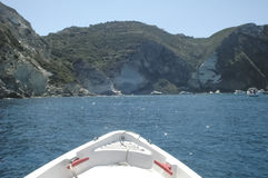Pontine海岛在夏天 库存照片