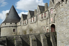Pontivy Castle (Brittany - France) Royalty Free Stock Image