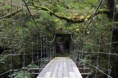 Pontlevis- Mooden bridge Stock Photography