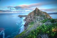 Ponto África do Sul do cabo imagem de stock