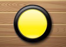 Ponto amarelo Imagem de Stock