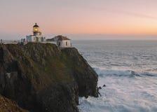 Ponto Bonita Lighthouse imagem de stock royalty free