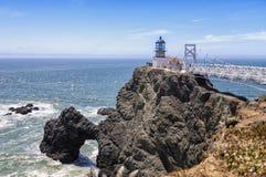 Ponto Bonita Lighthouse foto de stock royalty free
