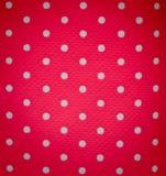 Ponto branco no fundo cor-de-rosa Fotos de Stock