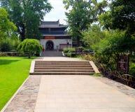Ponto cênico de langshan província em Nantong, Jiangsu, China Foto de Stock