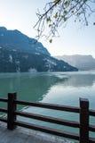 Ponto cênico do tribo de Three Gorges ao longo do Rio Yangtzé; localizado Imagens de Stock