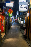 Ponto-cho alley is one of the most characteristic streets in Kyo Stock Photo
