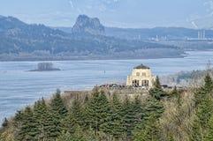 Ponto da coroa, Oregon, EUA. Imagens de Stock Royalty Free