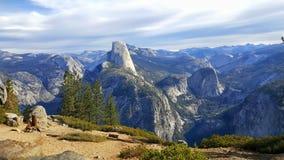 Ponto da geleira, parque nacional de Yosemite Fotografia de Stock Royalty Free