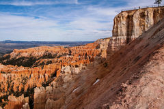 Ponto da inspiração em Bryce Canyon Imagem de Stock Royalty Free