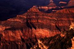 Ponto da navio de guerra em Grand Canyon foto de stock royalty free