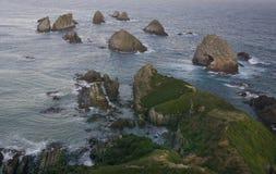 Ponto da pepita, Nova Zelândia Fotografia de Stock Royalty Free