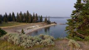 Ponto da tempestade, parque nacional de Yellowstone imagens de stock