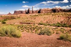 Ponto das molas das areias no vale do monumento Imagem de Stock Royalty Free