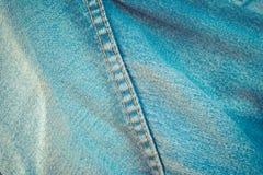 Ponto de calças de ganga Fotos de Stock Royalty Free