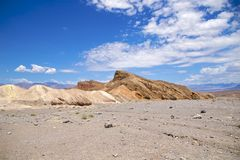 Ponto de Death Valley Zabriskie foto de stock royalty free