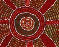 Ponto de encontro aborígene Imagens de Stock Royalty Free