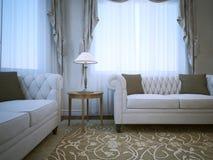 Ponto de encontro em apartamentos clássicos Fotos de Stock