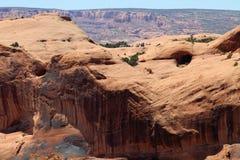 Ponto de estacionamento de Moab, Utá Fotografia de Stock Royalty Free