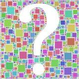 Ponto de interrogação? ? ? Imagens de Stock Royalty Free