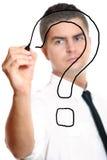Ponto de interrogação Imagem de Stock Royalty Free