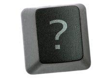 Ponto de interrogação Fotografia de Stock