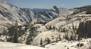 Ponto de Olmsted, Yosemite imagens de stock