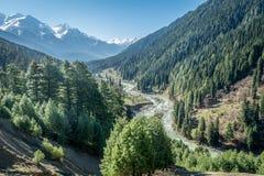 Ponto de opinião do vale de Aru foto de stock royalty free