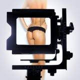 Ponto de opinião da câmera Imagens de Stock