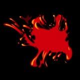 Ponto de sangue ilustração stock