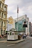 Ponto de verificação Charlie, Alemanha Foto de Stock Royalty Free