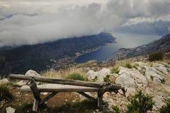Ponto de vista acima do mar Imagens de Stock