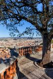 Ponto de vista agradável da cidade em França Imagens de Stock Royalty Free