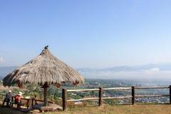 Ponto de vista Chiang Mai, Tailândia, Doi, fundo, Imagem de Stock Royalty Free