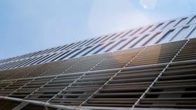 Ponto de vista da construção no ângulo ascendente Imagem de Stock