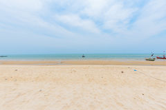 Ponto de vista da praia Fotografia de Stock