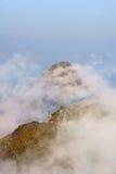 Ponto de vista de Doi Luang Chiang Dao Fotos de Stock Royalty Free