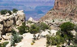 Ponto de vista de Grand Canyon Fotografia de Stock