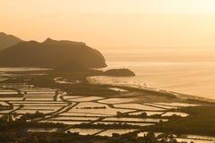 Ponto de vista de Khao Daeng no parque nacional de Khao Sam Roi Yot Imagem de Stock Royalty Free