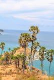 Ponto de vista de Laem Phromthep em Phuket, Tailândia Fotos de Stock